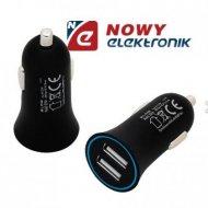 Ładowarka USB samoch. BLOW 2,1A 5V G21A zasil. USB z gn.zapaln.
