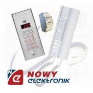 Zestaw domofonowy 1062/341 dla 1 lok. VERTICAL/UTOPIA z zamkiem kod