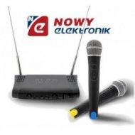 Mikrofon bezprzew. PRM 800 BLOW dwa mikrofony do ręki VHF