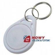 Transponder brelok  EM4100 biały klucz S103, 125kHz (4100)