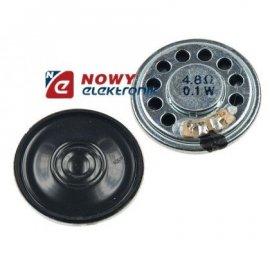 Głośnik miniaturowy 3cm 0,1W 4,8 Ω