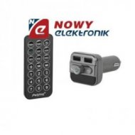 Transmiter FM Bluetooth+ład.USB microSD do 32G z pil/ samoch.