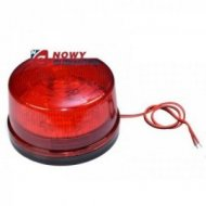 Sygnalizator optyczny 12V czerw. świetlny LED  migacz/kogut