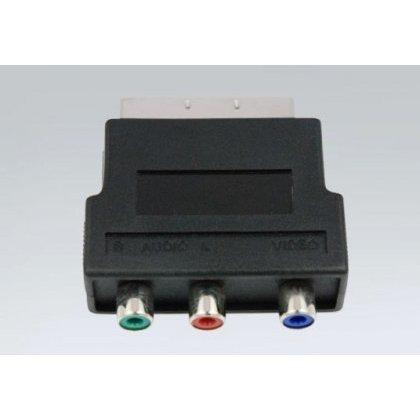 Przejście wt.SCART-3*gn.RCA RGB