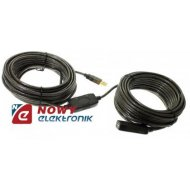 Kabel USB wt.A/gn.A 20m AKTYWNY ze wzmacniaczem USB2.0 Y-262 UNITEK