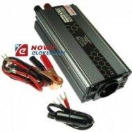 Przetwornica 12V/230V 600W SIN HEX SINUS USB