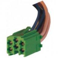ZRS-ISO-3-Z Wtyk mini-ISO zielon