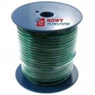 Przewód sam.1*5,22mmCCA zielony do wzmacniaczy (AC Power)