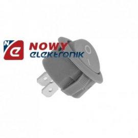 Przełącznik okr. szary/biały 10A 2pin/2poz