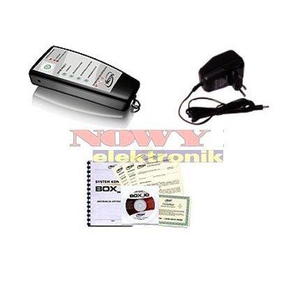 Czytnik BOX_ID-2 z oprogr. i ładowarką.System Kontroli Osób