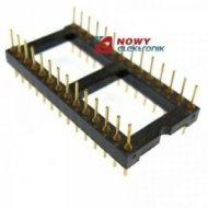 Wtyk DIL28PH dwustronny 28 pin r-2,54mm