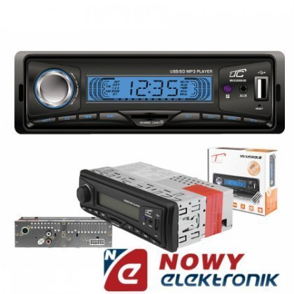 Radio samoch.LTC MVX2000UB USB/SD/AUX 4x45W