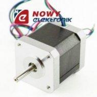 Silnik krokowy 42HS48-0406 200k /obr  3,8V 4przew.