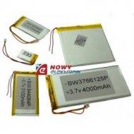 Akumulator do pakiet. 1250mAh LI-POLY 3,7V 4,0x31x85mm