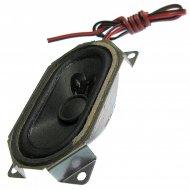 Głośnik TV S.65x35.4 YDT4070-02 8Ω 3w 65x35mm 71x43x21mm PROSTOKĄTNY