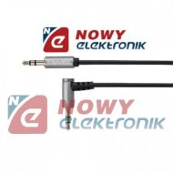 Kabel Jack 3,5st wt.-wt.1,8m K&M kątowy/prosty