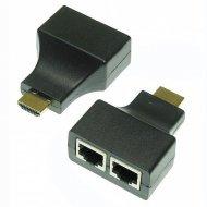 Przedłużacz HDMI/RJ45 Exten. 30m EXTENDER zasięg 30m