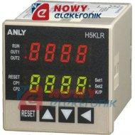 Licznik impulsów AH5KLR-1124V   LED 12-48V AC/DC