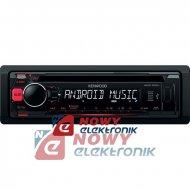 Radio samoch.KENWOOD KDC-100UR  CD+USB RED czerwone podświetlenie