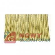 Zestaw oznaczników kabli 7mm2 max.śr.przew.6mm 780szt.