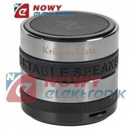 Głośnik Bluetoothprzenośny + FM radio Kruger&Matz