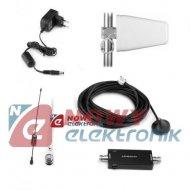Wzmacniacz GSM 3G UMTS MPSR-W+ ant.panelowa 1920-1990 MHz/2110-2180MHz