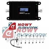 Wzmacniacz GSM do 350m MPSR-LA  LCD 890-915MHz/935-960MHz (2xant./wzmacn