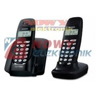 Telefon Siemens AS200 DUO  (-)  Gigaset dwusłuchawkowy bezprzewodowy