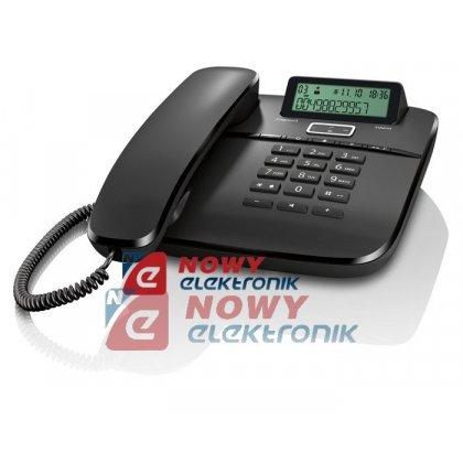 Telefon SIEMENS DA610 czarny    GIGASET przewodowy