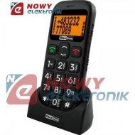 Telefon GSM MAXCOM MM431 BB  dla Seniora