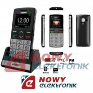 Telefon GSM MAXCOM MM710BBsreb. dla Seniora