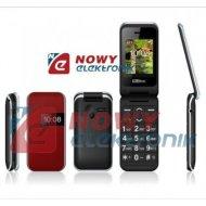 Telefon GSM MAXCOM MM821 BBczer czerwony dla Seniora