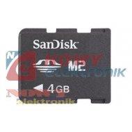 Karta pamięci micro MS M2 4GB  Memory Stick