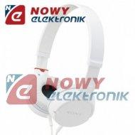 Słuchawki SONY ZX100 Białe  nagłowne