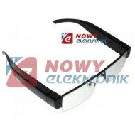Kamera w okularach HG01  ELEGANCE Okulary szpiegowskie z kamerą