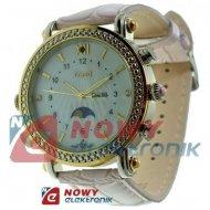 Kamera w zegarku D1 Różowy      zegarek szpiegowski z kamerą Damski