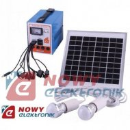 System Solarny mini 1220 6W/12V kpl. zestaw PV