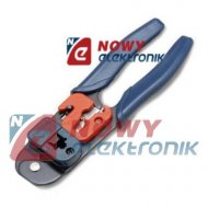 Zaciskacz HT-L2180 metal. 8p  Rj45 (tel)