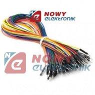 Kabel do płytek stykowych 30cm kable połączeniowe  męsko-męsk.