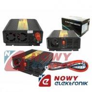Przetwornica 12V/230V 800/1600W LEXTOOL  +usb 5v 2.1a