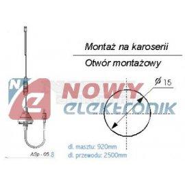 Antena samochodowa ASp-05.8 L-2, 5