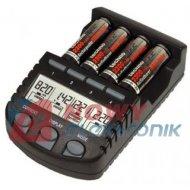 Ładowarka BC 700 R3,R6 z pompoj Mikropr. z LCD i pomiarem pojemności
