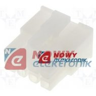 Wtyk Mini-Fit Jr MX-55-57-08R 8p żeński /osłona bez pin MOLEX