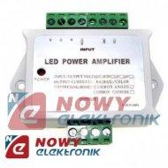 Wzmacniacz LED RGB 24A do taśm i modułów LED, uniwersalny