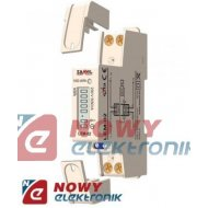 Miernik poboru energii 1-faz LEM LEM-02 licznik DIN ZAMEL /Watomierz