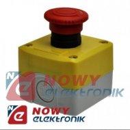 Przełącznik w obud.grz GB-5K-174 ON-OFF 1-tor Red bezpieczeństwa