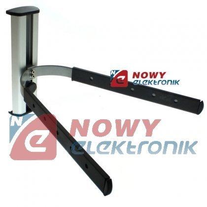 Uchwyt Półka pod sprzęt TV/SAT  mikrofalówke regulowana wysokość 20cm