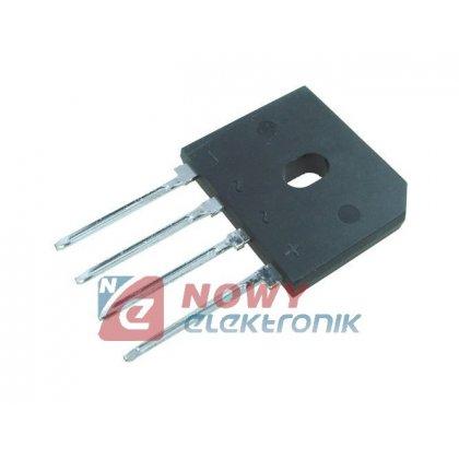 Mostek 10A 1000V GBU10m płaski odp.GBU/KBK