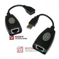 Przedłużacz USB po skrętce 30m (RJ45 LAN) /KABEL