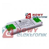 Zasilacz ZI LED 12V/1A CV płaski FTPC12V12 ultra płaski POS
